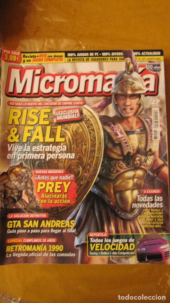 REVISTA MICROMANIA Nº 127 (Juguetes - Catálogos y Revistas de Juguetes)
