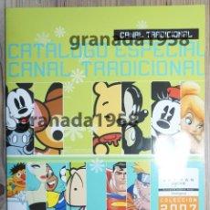 Juguetes antiguos: CATÁLOGO PROFESIONAL CANAL TRADICIONAL JOSMAN 2007. BOLSAS BOLSOS MOCHILAS SPIDERMAN DYSNEY. Lote 207568647