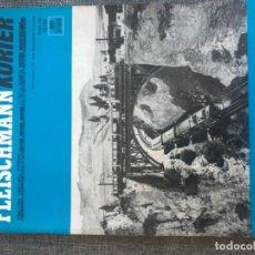 Juguetes antiguos: REVISTA FERROCARRIL FLEISCHMANN KURIER EN ALEMAN 1973. Lote 208684413