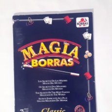 Juguetes antiguos: LIBRO, INSTRUCCIONES DE MAGIA, BORRAS, 140 TRUCOS. Lote 209264495
