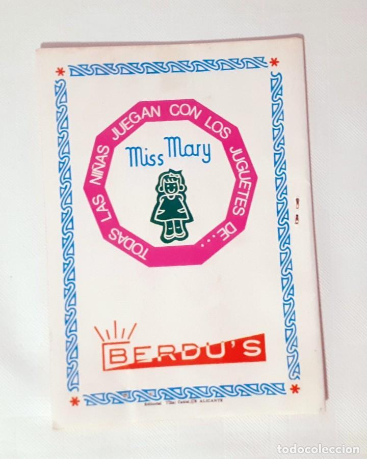 Juguetes antiguos: INSTRUCCIONES DEL JUEGO DE BELLEZA MISS MARY - Foto 2 - 209272975