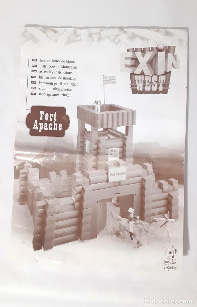 INSTRUCCIONES EXIN WEST (Juguetes - Catálogos y Revistas de Juguetes)