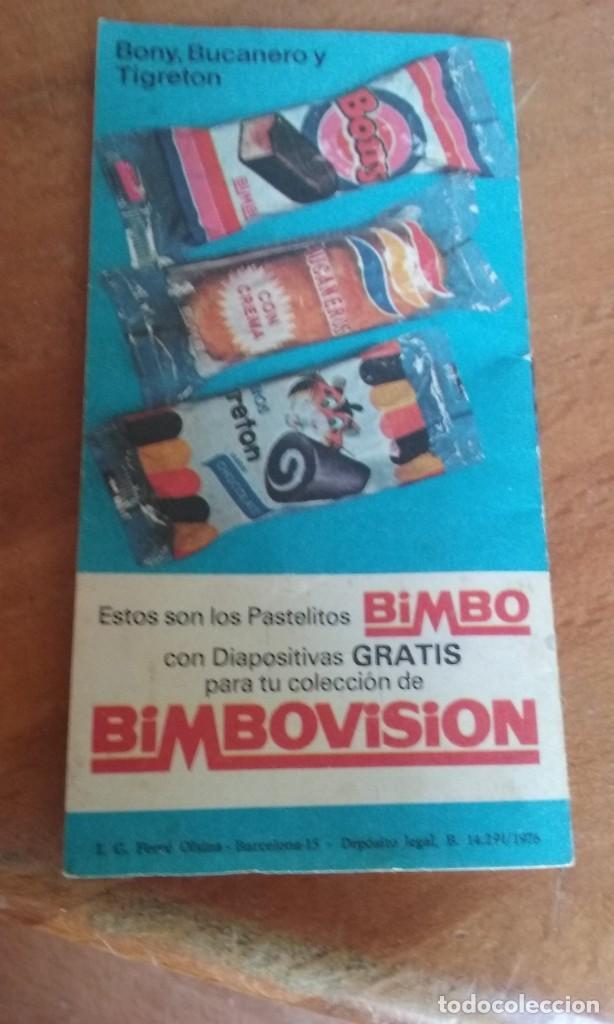 AGENDA BIMBOVISION BIMBO VISION (Juguetes - Catálogos y Revistas de Juguetes)