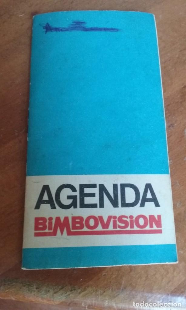 Juguetes antiguos: AGENDA BIMBOVISION BIMBO VISION - Foto 2 - 209412620