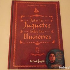 Juguetes antiguos: CATÁLOGO DE JUGUETES EL CORTE INGLÉS NAVIDAD HARRY POTTER 2002 - 2003. Lote 210526472
