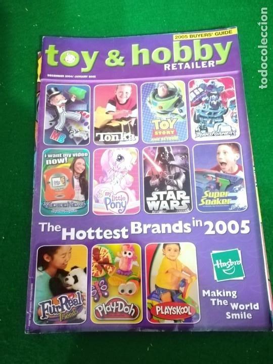 REVISTA TOY & HOBBY , DICIEMBRE 2004/ENERO 2005 , EN INGLES (Juguetes - Catálogos y Revistas de Juguetes)