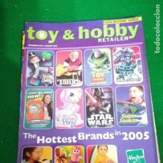 Juguetes antiguos: REVISTA TOY & HOBBY , DICIEMBRE 2004/ENERO 2005 , EN INGLES. Lote 210548603