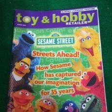 Juguetes antiguos: REVISTA TOY & HOBBY , AGOSTO 2005, EN INGLES. Lote 210549231