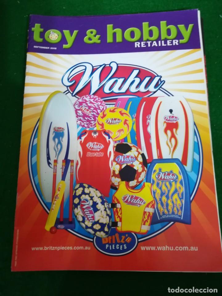REVISTA TOY & HOBBY , SEPTIEMBRE 2005, EN INGLES (Juguetes - Catálogos y Revistas de Juguetes)