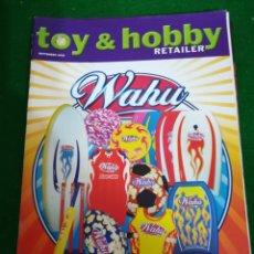 Juguetes antiguos: REVISTA TOY & HOBBY , SEPTIEMBRE 2005, EN INGLES. Lote 210549573