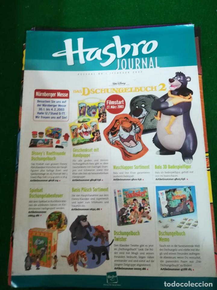 REVISTA HASBRO JOURNAL , Nº 1 , FEBRERO 2003 , EN ALEMAN (Juguetes - Catálogos y Revistas de Juguetes)