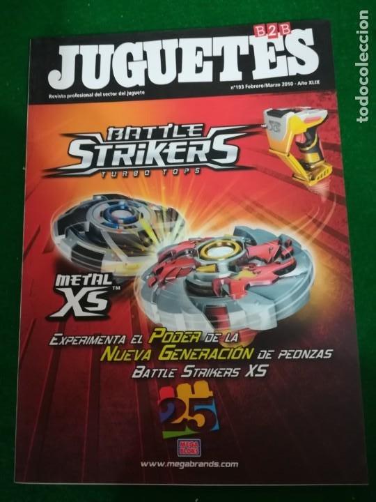 REVISTA JUGUETES B2B , Nº 193 , FEBRERO/MARZO 2010 (Juguetes - Catálogos y Revistas de Juguetes)