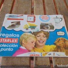 Juguetes antiguos: CATALOGO DE REGALOS STARLUX COLECCIÓN PUNTO JUGUETES PAYA. Lote 210737846