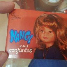 Juguetes antiguos: NANCY Y SUS CONJUNTOS - CATÁLOGO 1976. Lote 211262497