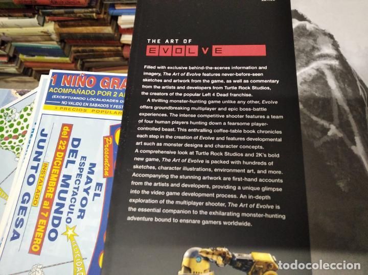Juguetes antiguos: THE ART OF EVOLVE . PHIL ROBB & CHRIS ASHTON . TITAN BOOKS . 1ª EDICIÓN 2015. VIDEOJUEGOS. - Foto 3 - 212375920