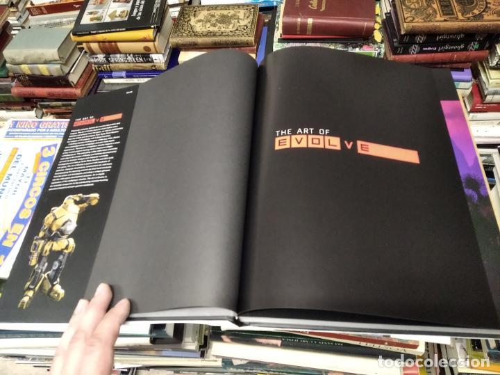 Juguetes antiguos: THE ART OF EVOLVE . PHIL ROBB & CHRIS ASHTON . TITAN BOOKS . 1ª EDICIÓN 2015. VIDEOJUEGOS. - Foto 5 - 212375920