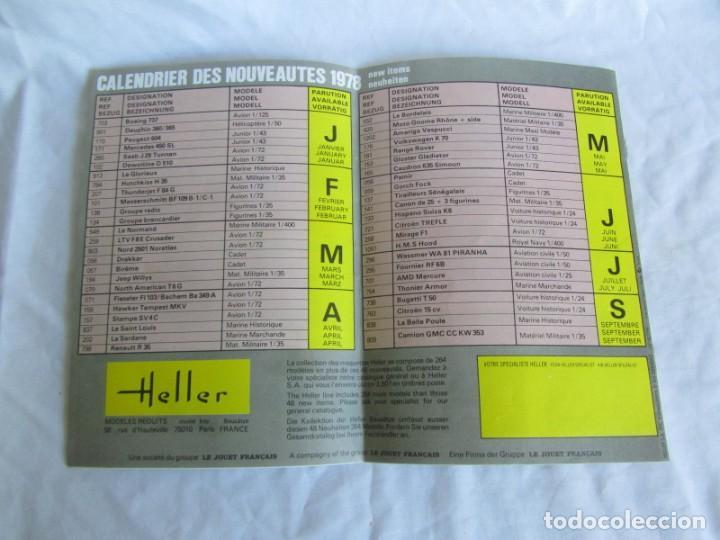 Juguetes antiguos: Tres catálogos de maquetas Heller Años 70 - Foto 3 - 213407008
