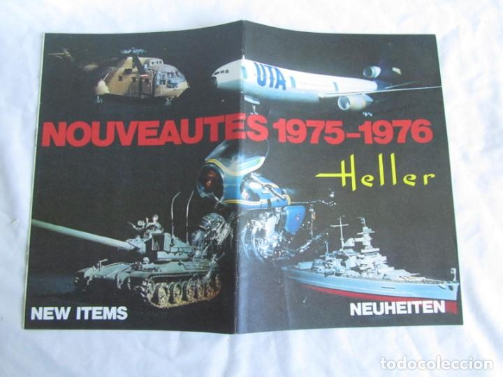 Juguetes antiguos: Tres catálogos de maquetas Heller Años 70 - Foto 4 - 213407008
