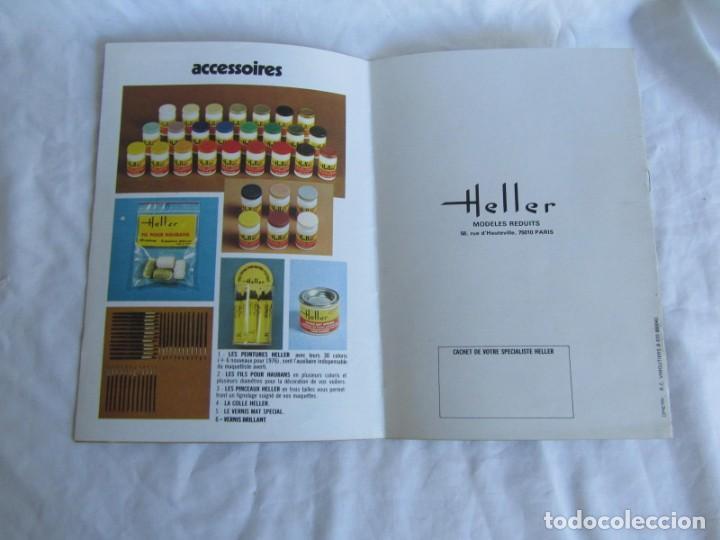 Juguetes antiguos: Tres catálogos de maquetas Heller Años 70 - Foto 5 - 213407008