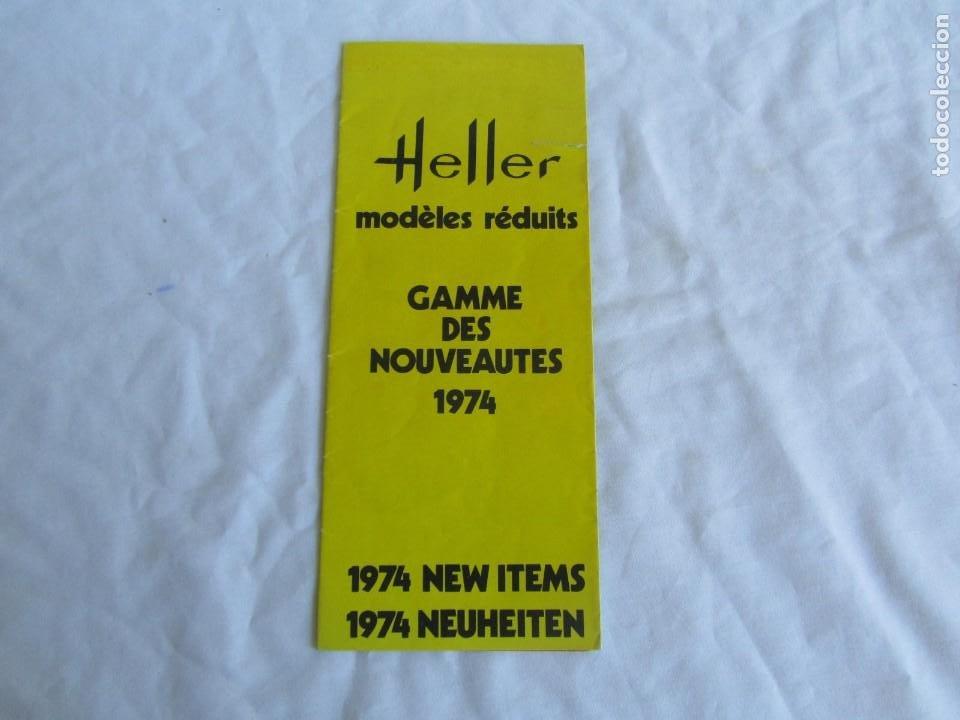 Juguetes antiguos: Tres catálogos de maquetas Heller Años 70 - Foto 6 - 213407008