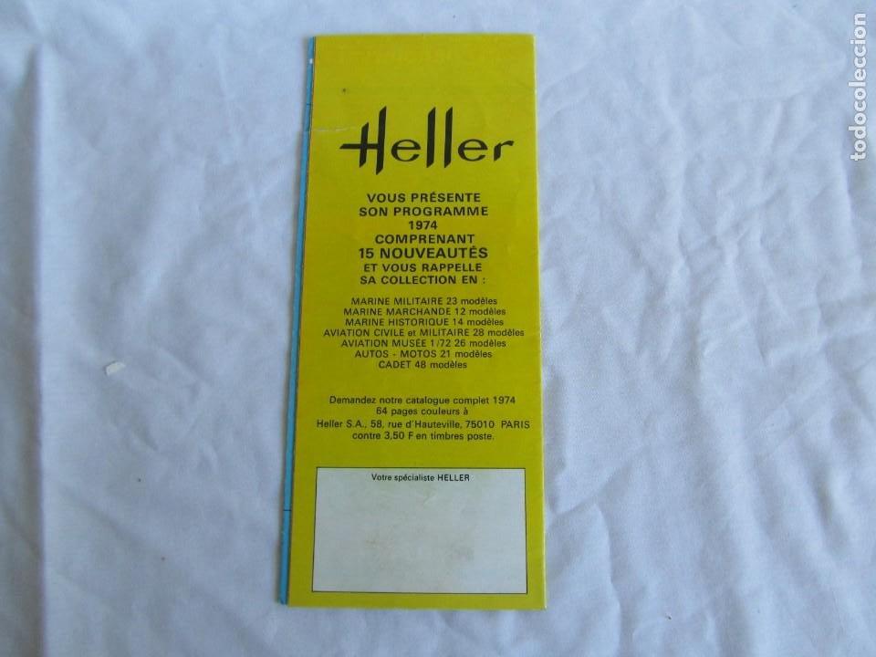 Juguetes antiguos: Tres catálogos de maquetas Heller Años 70 - Foto 7 - 213407008