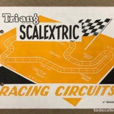 Juguetes antiguos: TRI-ANG SCALEXTRIC RACING CIRCUITS 3º EDICIÓN (1969).. Lote 216788427