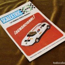 Brinquedos antigos: CATALOGO ANTIGUO DE SCALEXTRIC,MERCEDES WANKEL,1971.. Lote 217475985