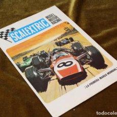Juguetes antiguos: ANTIGUO CATALOGO DE SCALEXTRIC MODEL MOTOR RACING,1969.. Lote 217476503