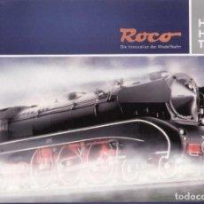 Brinquedos antigos: CATÀLOGO ROCO 2011/12 DIE INNOVATION DER MODELLBAHN - HO HOE TT - EN ALEMÀN. Lote 217541690