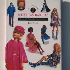 Brinquedos antigos: MUÑECAS BARBIE BREVE GUÍA DE ESTUDIO E IDENTIFICACIÓN LIBRO JANINE FENNICK (TAPA DURA). Lote 218176817