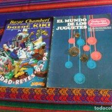 Juguetes antiguos: EL MUNDO DE LOS JUGUETES 1976 GALERÍAS PRECIADOS. REGALO NAVIDAD-REYES 93-94 BAZAR CHAMBERÍ Y KIKI.. Lote 218178737