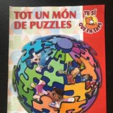 Giocattoli antichi: JAC JUGUETERIAS - CATALOGO PUZZLES PUZZLE 2014 - EDUCA CLEMENTONI LEGO - EN CATALAN. Lote 218304280