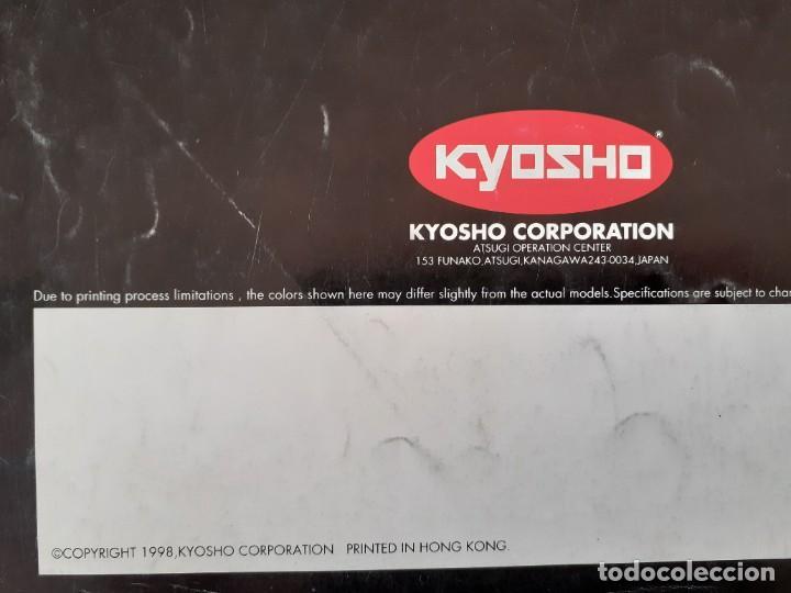 Juguetes antiguos: CATÁLOGO KYOSHO DIE-CAST 1998 COCHES 1:18 1:43 - Foto 2 - 218461175