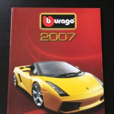 Juguetes antiguos: BURAGO 2007 - CATALOGO - FERRARI PORSCHE MERCEDES FORD BMW LANCIA VOLVO MINI LAND ROVER FIAT ALFA. Lote 218605380