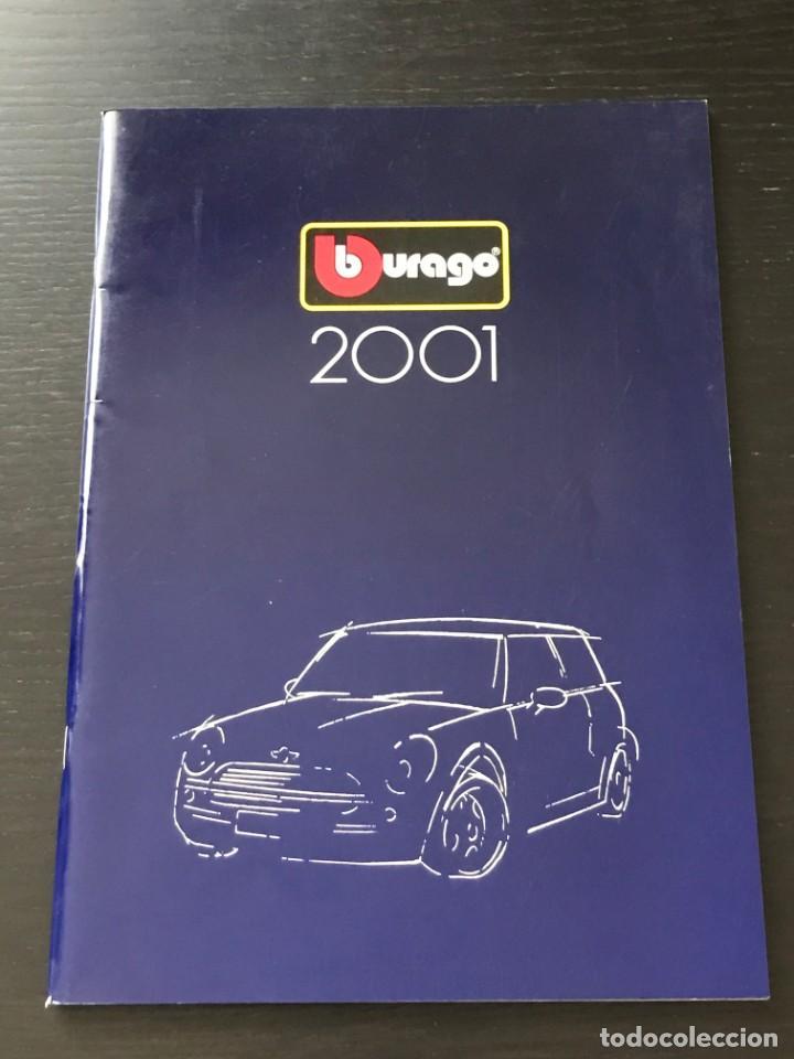 BURAGO 2001 - CATALOGO - FERRARI PORSCHE MERCEDES FORD BMW LANCIA VOLVO MINI LAND ROVER FIAT ALFA (Juguetes - Catálogos y Revistas de Juguetes)