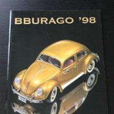 Juguetes antiguos: BURAGO 1998 - CATALOGO - FERRARI PORSCHE MERCEDES FORD BMW LANCIA VOLVO MINI LAND ROVER FIAT ALFA. Lote 218605908