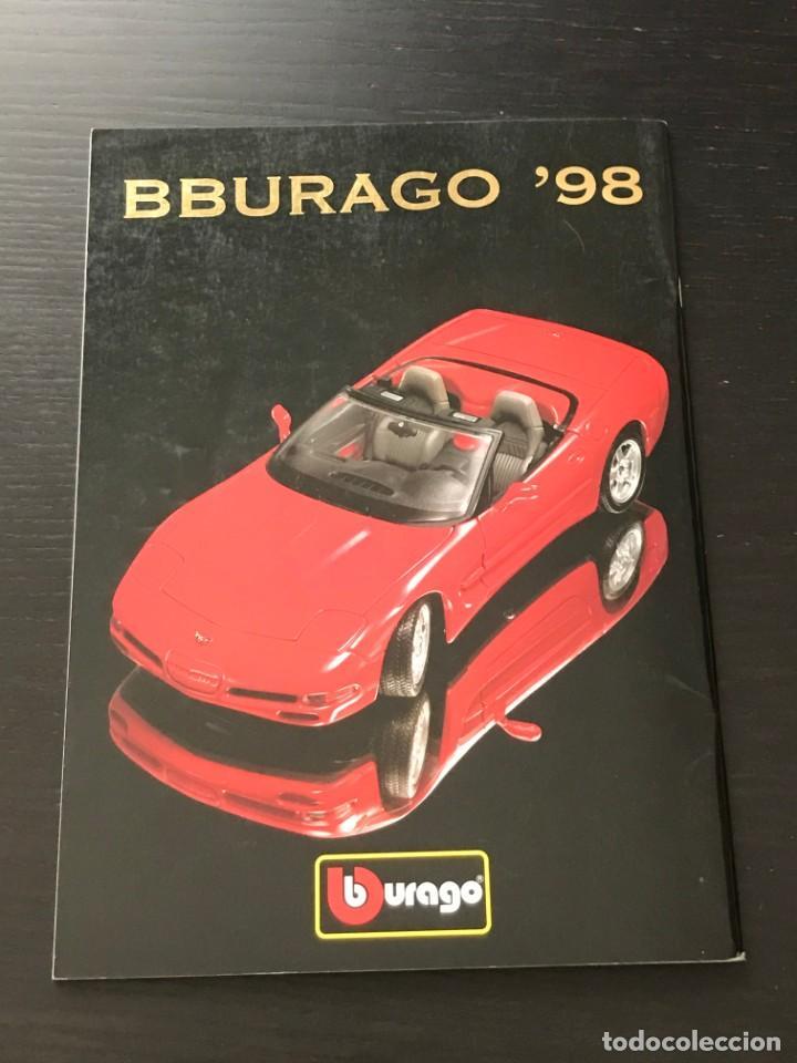 Juguetes antiguos: BURAGO 1998 - CATALOGO - FERRARI PORSCHE MERCEDES FORD BMW LANCIA VOLVO MINI LAND ROVER FIAT ALFA - Foto 7 - 218605908