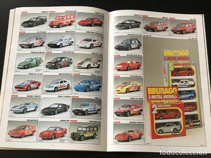 Juguetes antiguos: BURAGO 1990 - CATALOGO - FERRARI PORSCHE MERCEDES FORD BMW LANCIA VOLVO MINI LAND ROVER FIAT ALFA - Foto 9 - 218606275