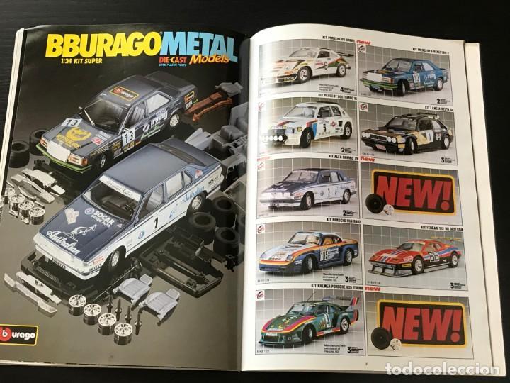Juguetes antiguos: BURAGO 1990 - CATALOGO - FERRARI PORSCHE MERCEDES FORD BMW LANCIA VOLVO MINI LAND ROVER FIAT ALFA - Foto 11 - 218606275