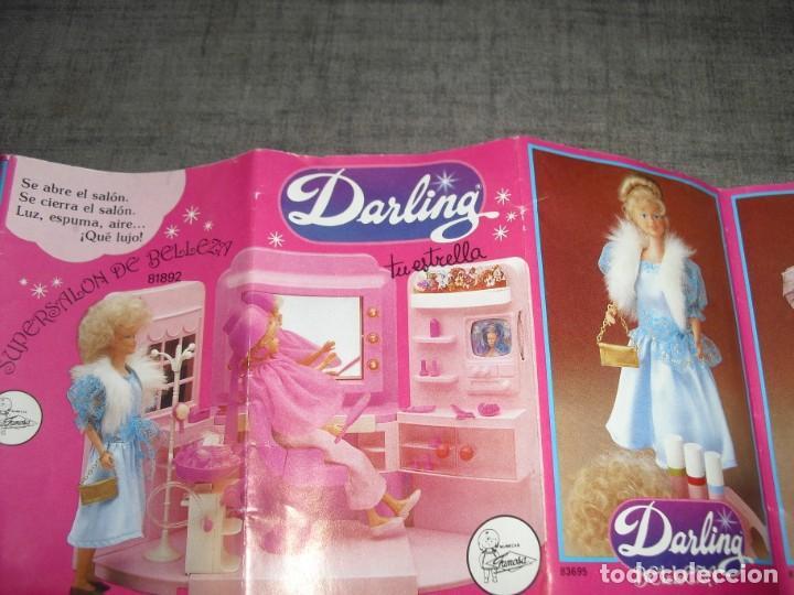 Juguetes antiguos: catalogo muñecas famosa darling - Foto 3 - 218902981