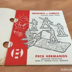 Giocattoli antichi: PECH HERMANOS CATALOGO CON 15 HOJAS JUGUETES PLASTICO TODO COLOR (COIB147). Lote 265399414