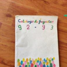 Brinquedos antigos: CATÁLOGO JUGUETES EL CORTE INGLÉS 1992 - 1993. Lote 220382755