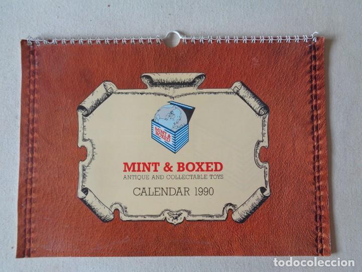 CALENDARIO DE JUGUETES 1990.MINT AND BOXED (Juguetes - Catálogos y Revistas de Juguetes)