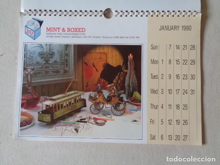 Juguetes antiguos: CALENDARIO DE JUGUETES 1990.MINT AND BOXED - Foto 2 - 220968778