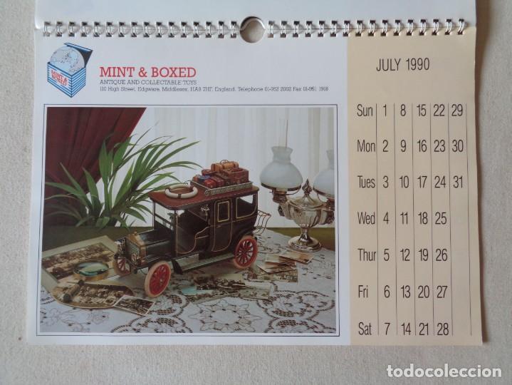 Juguetes antiguos: CALENDARIO DE JUGUETES 1990.MINT AND BOXED - Foto 3 - 220968778