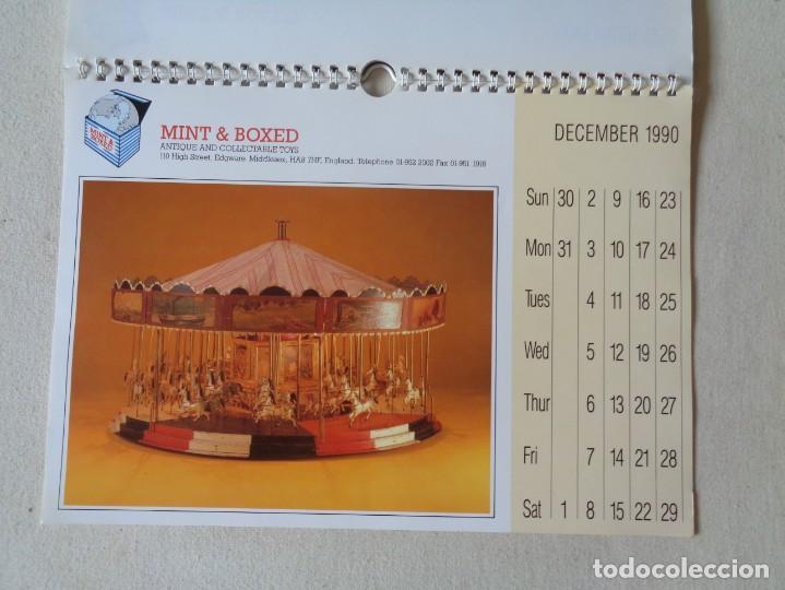 Juguetes antiguos: CALENDARIO DE JUGUETES 1990.MINT AND BOXED - Foto 4 - 220968778