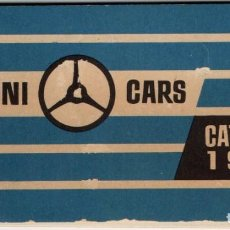 Juguetes antiguos: CATALOGO MINI CARS ANGUPLAS MINIATURAS PERFECTAS COLECCION 1960 ,34 PAGINAS. Lote 221542795