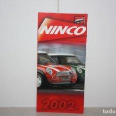 Juguetes antiguos: PUBLICIDAD NINCO. AÑO 2002. Lote 221986573