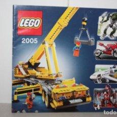Juguetes antiguos: CATÁLOGO LEGO 2005. Lote 221986633
