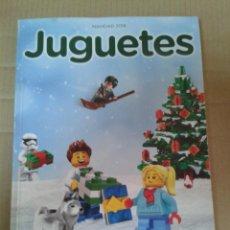 Juguetes antiguos: CATALOGO DE JUGUETES EL CORTE INGLES - NAVIDAD 2018. Lote 221986802